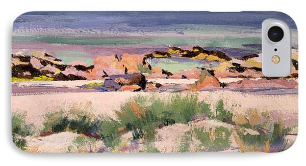 On The Shore  Iona  IPhone Case by Francis Campbell Boileau Cadell