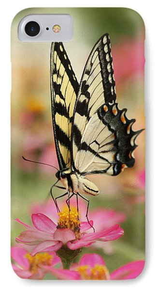 On The Top - Swallowtail Butterfly IPhone Case