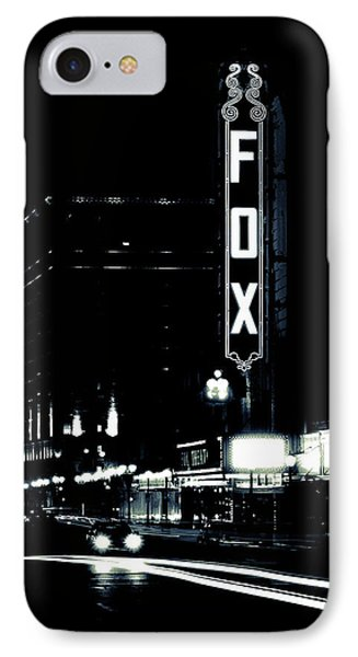 On The Town IPhone Case by Scott Rackers