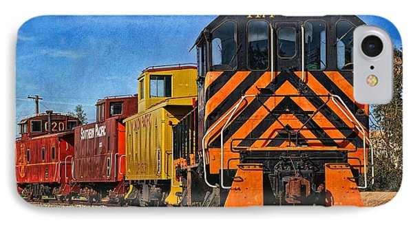 On The Tracks IPhone Case by Peggy Hughes