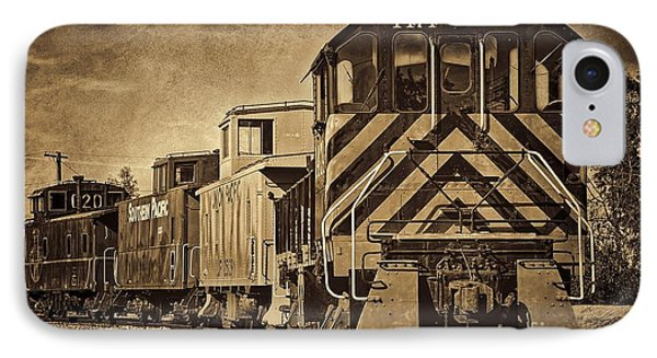 On The Tracks... Take Two. IPhone Case by Peggy Hughes