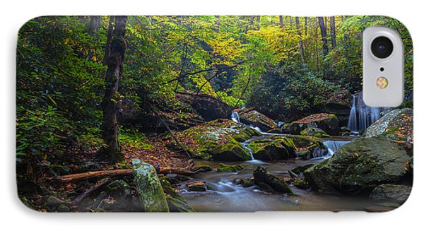 On The Way To Catawba Falls IPhone Case