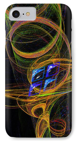 IPhone Case featuring the digital art On The Way To Oz by Victoria Harrington