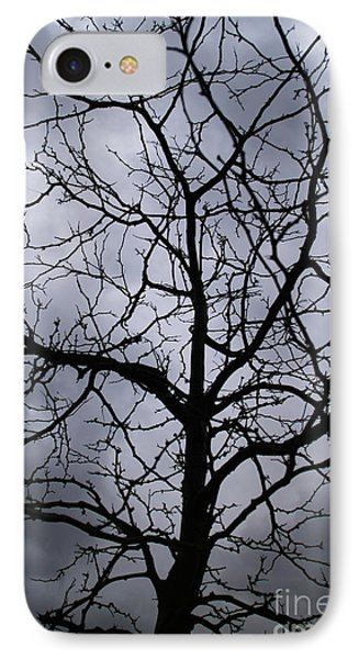 IPhone Case featuring the photograph On Their Shoulders Held The Sky by Linda Shafer