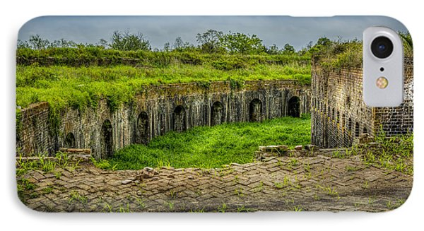 On Top Of Fort Macomb Phone Case by David Morefield