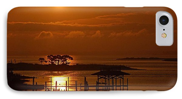On Top Of Tacky Jacks Sunrise IPhone Case by Michael Thomas