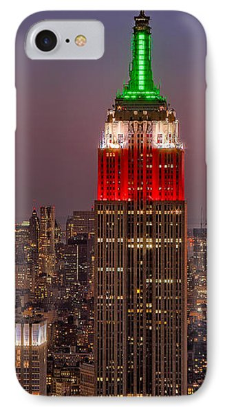 On Top Of The Rock Phone Case by Susan Candelario