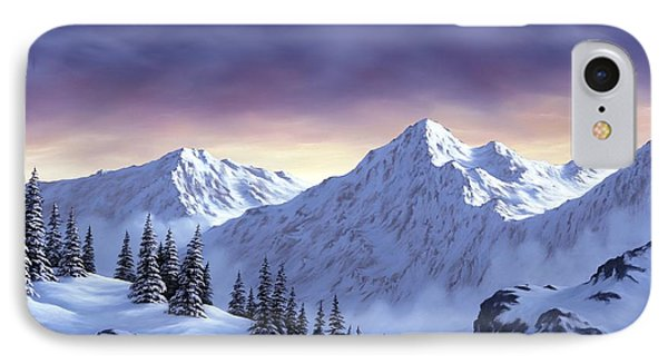 On Top Of The World IPhone Case by Rick Bainbridge