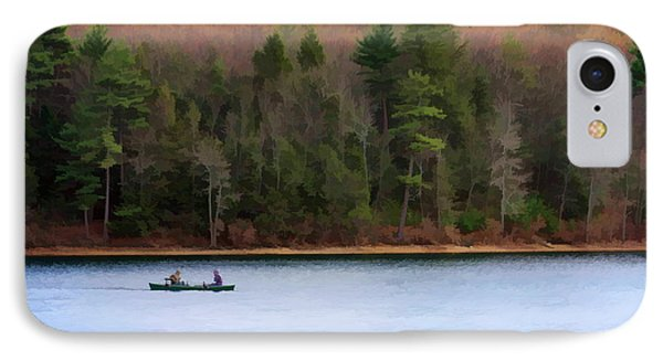 On Walden Pond Phone Case by Jayne Carney