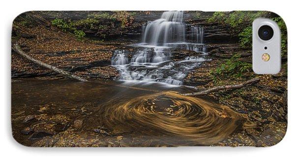 Onandaga Falls IPhone Case by Roman Kurywczak