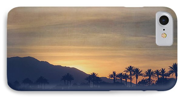 Desert Sunset iPhone 7 Case - Once Again by Laurie Search