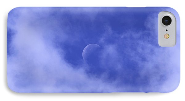 IPhone Case featuring the photograph Once In A Blue Moon by Judy Whitton