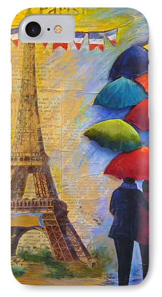 Once Upon A Time In Paris IPhone Case