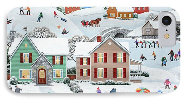Once Upon A Winter Phone Case by Wilfrido Limvalencia