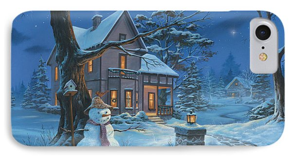 Once Upon A Winter's Night IPhone Case