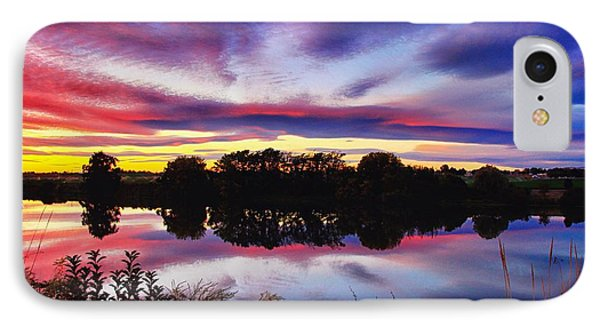 One Autumn Evening IPhone Case by Lynn Hopwood
