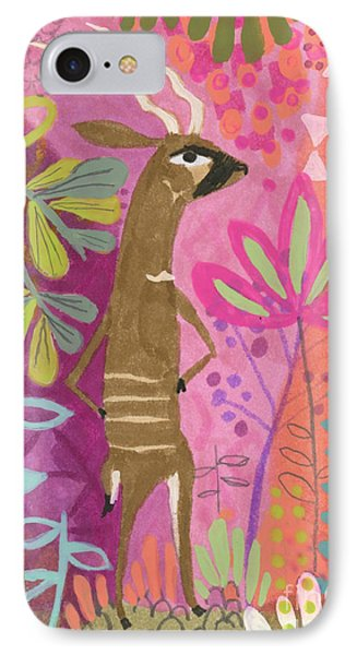 One Cool Bongo IPhone Case by Kate Cosgrove