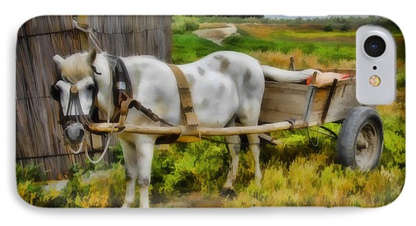 One Horse Wagon IPhone Case