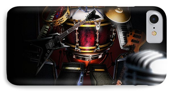 One Man Band IPhone Case by Alessandro Della Pietra