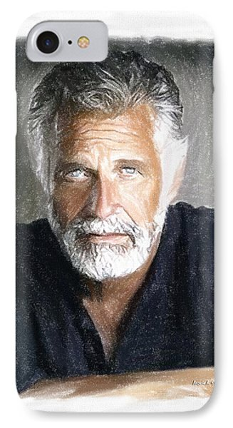 One Of The Most Interesting Man In The World Phone Case by Angela A Stanton