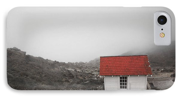 IPhone Case featuring the photograph One Room In A Fog by Ellen Cotton