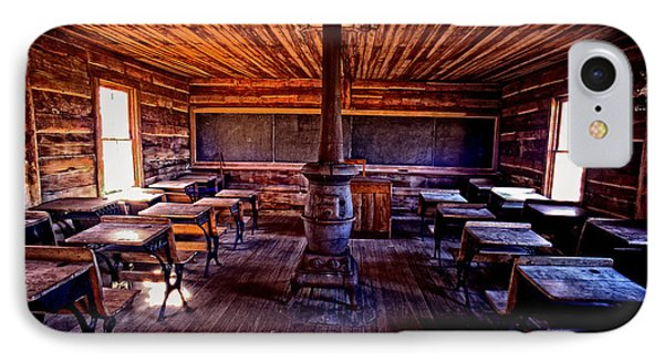 One-room School House IPhone Case by Paul W Faust -  Impressions of Light