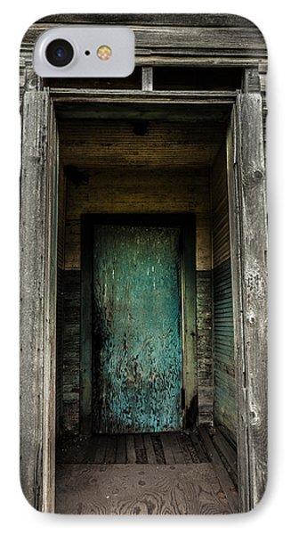 One Room Schoolhouse Door - Damascus - Pennsylvania IPhone Case