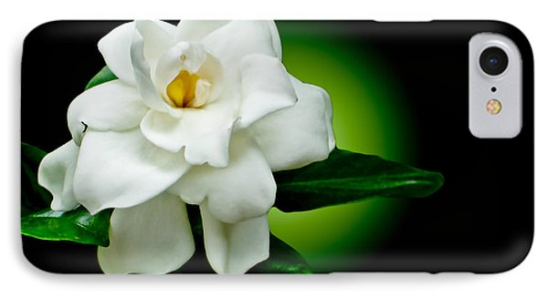 One Sensual White Flower Phone Case by Carol F Austin