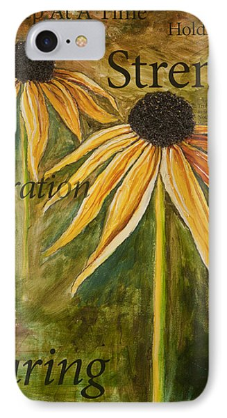 One Step At A Time IPhone Case by Lisa Fiedler Jaworski