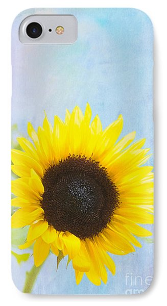 One Sunflower Phone Case by Kay Pickens