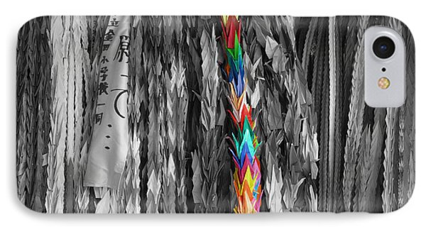 IPhone Case featuring the photograph One Thousand Paper Cranes by Cassandra Buckley
