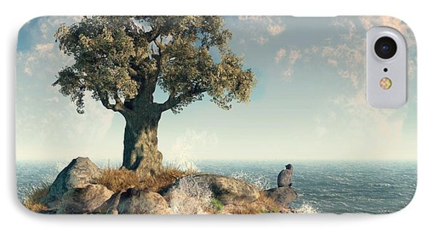 One Tree Island Phone Case by Daniel Eskridge