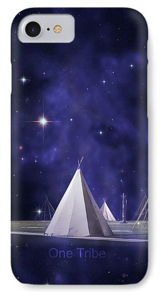 One Tribe IPhone Case by Laura Fasulo