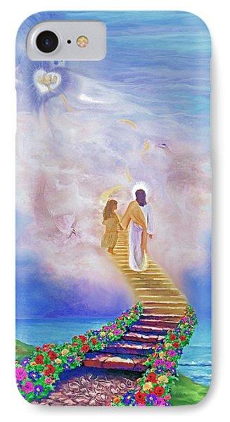 One Way To God Phone Case by Susanna  Katherine