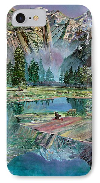 One With Nature Phone Case by Sarabjit Singh