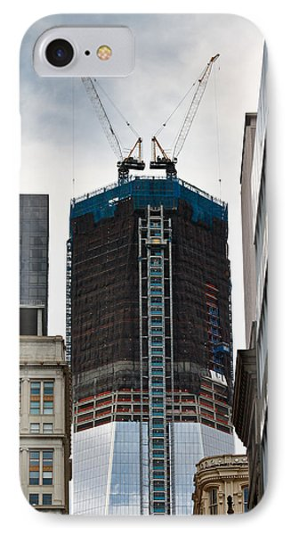 IPhone Case featuring the photograph One World Trade Center by Ann Murphy
