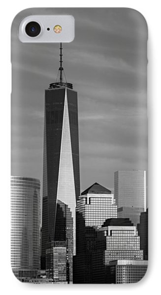 One World Trade Center Bw IPhone Case