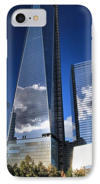 One World Trade Center Reflections IPhone Case