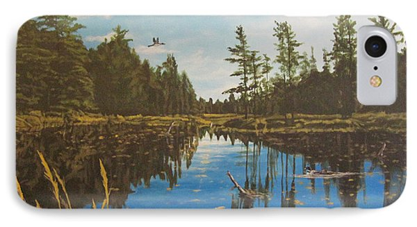 O'neal Lake IPhone Case by Wendy Shoults