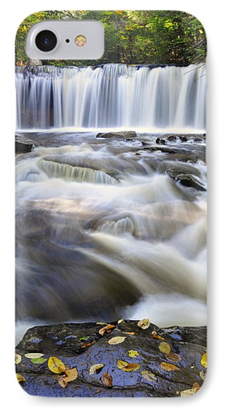 IPhone Case featuring the photograph Oneida Falls  by Dan Myers