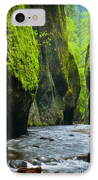 Oneonta River Gorge IPhone Case by Inge Johnsson