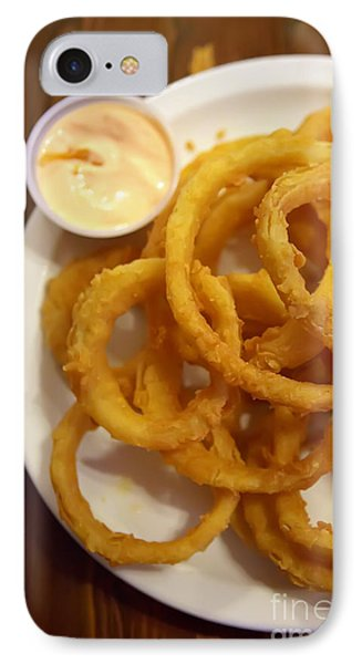 Onion Rings Phone Case by Kay Pickens