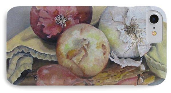 Onions Phone Case by Karen Olson