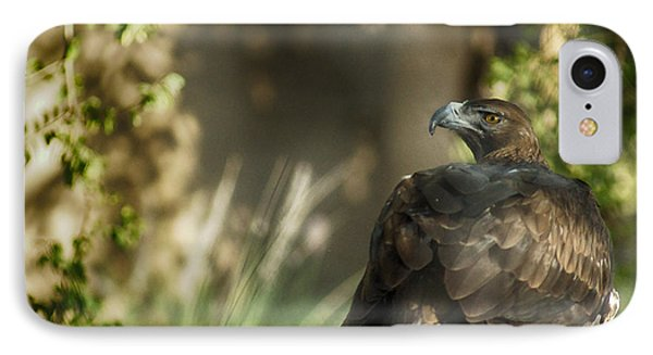 Only An Eagle Can Be As Sharp As An Eagle Phone Case by Munir El Kadi