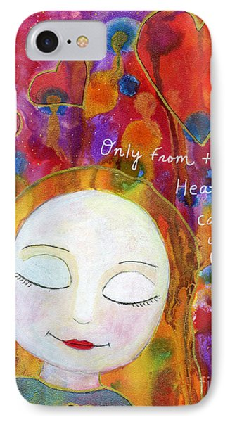 Only From The Heart IPhone Case