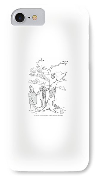 Only Its Tremendous Will To Live Pulled IPhone Case