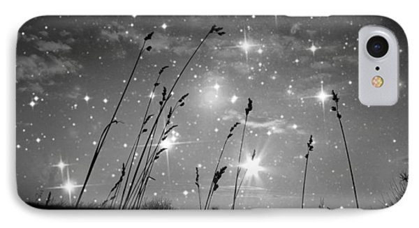 Only The Stars And Me...in The End... IPhone Case by Marianna Mills