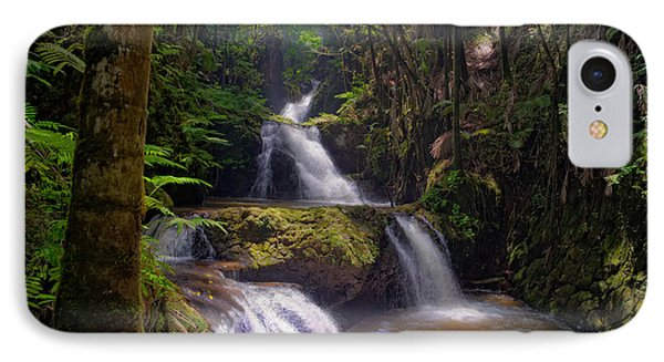 IPhone Case featuring the photograph Onomea Falls by Jim Thompson