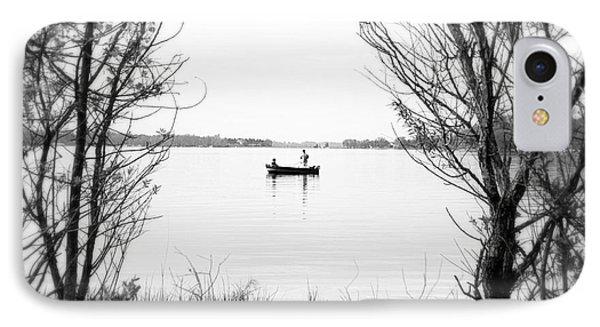 Ontario Fishing Trip Phone Case by Valentino Visentini