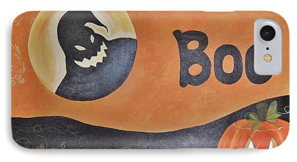 IPhone Case featuring the painting Oogie Boogie Boo by Cindy Micklos